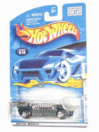2001 First Editions #7 Krazy 8s Hot Wheels Tampo On Wing #2001-19 Collectible Collector Car Mattel Hot Wheels