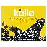 Kallo Organic Chicken Stock Cubes 6 x 11g