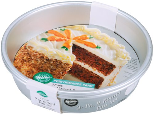 Performance Cake Pans 2/Pkg-9