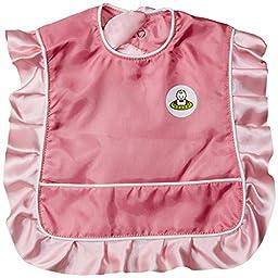 Neatnik Ruffle Bib, Pink