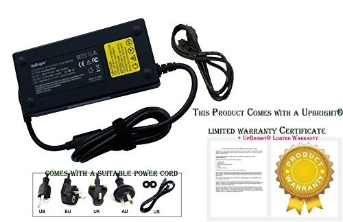 UpBright New Global AC / DC Adapter For iBuyPower Valkyrie CZ-15 Gaming Laptop iBuy Power Notebook PC Power Supply Cord Cable PS Battery Charger Mains…