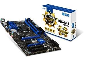 MSI Computer Corp. Motherboard ATX DDR3 1333 LGA 1150 Motherboards B85-G41 PC MATE