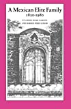 img - for A Mexican Elite Family, 1820-1980 by Larissa Adler Lomnitz (1988-03-01) book / textbook / text book