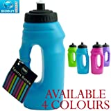 Sports Bottle - One Handed - Pop-Up Top - Carry Handle