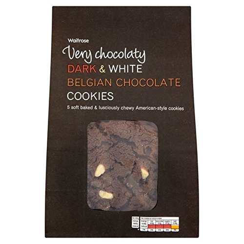 scuro-e-nero-biscotti-al-cioccolato-belga-waitrose-5-per-confezione