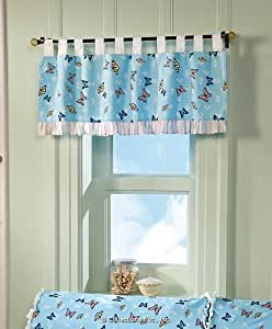 Butterfly Curtain Valance