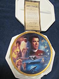 Star Trek IV The Voyage Home Collector\'s Plate: The Hamilton Collection 1994 Presents Star Trek Iv: The Movies Plate Collection