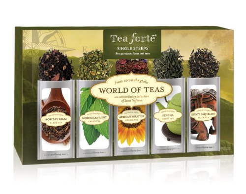 Tea Forte World Of Teas Single Steeps Loose Tea