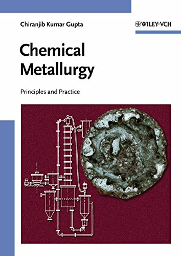 Chemical Metallurgy: Principles and Practice