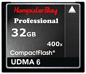 Komputerbay 32GB Professionelle Compact Flash-Karte CF 400X WRITE 30MB / s lesen 60MB / s Extreme Speed UDMA 6 RAW 32 GB