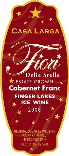 2008 Casa Larga-Fiori Delle Stelle Cabernet Franc Ice Wine 375 Ml