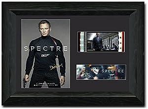 Spectre Framed Film Cell 35 mm Film Cell Stunning display Signed Daniel Craig James Bond 007