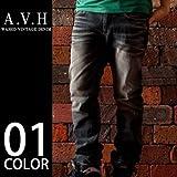 (エーブイエイチ) AVH Black Label メンズ デニムパンツ