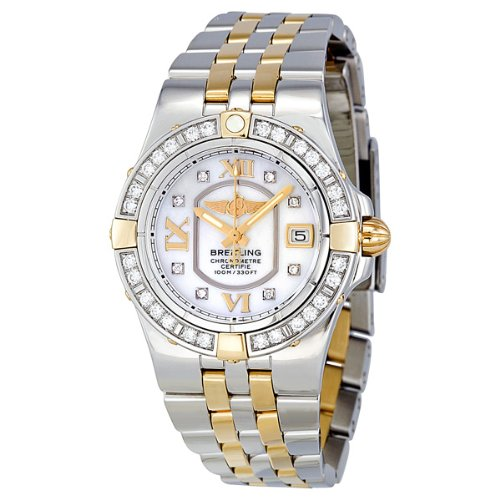 Breitling Galactic 30 Mother of Pearl Diamond