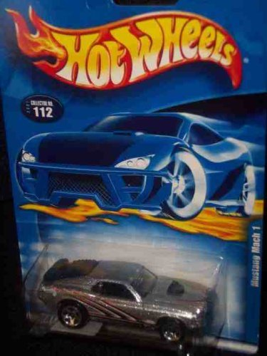 #2001-112 Mustang Mach 1 5-spoke Wheels Collectible Collector Car Mattel Hot Wheels - 1