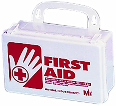Mutual 50002 25 Person Weatherproof First Aid Kit from Mutual Industries, Inc.