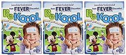 Be Koool Be Koool Soft Gel Sheets For Kids, 4 each (Pack of 3)