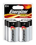 Energizer Max D Batteries, 4-Count