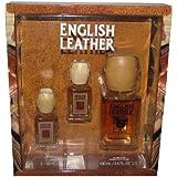 English Leather Cologne Splash Set (TWO 0.6 oz. & 3.4 oz.) (Color: Brown150, Tamaño: 3.4 oz)