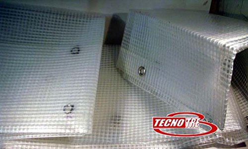 TENDA NYLON RETINATA TENDE DA BALCONE H300 X 200 CM.