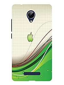 TREECASE Printed Soft Silicone Back Case Cover For Micromax Canvas Doodle 4 Q391