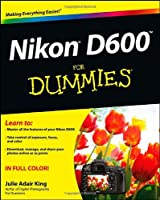 Nikon D600 For Dummies Front Cover