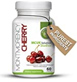 Montmorency Cherry 550milligrams 60 Caps  Powerful Antioxidant For Health and Well Being, Natural Sleeping Aid, Helps Ease Arthritis Pain, Reduces Inflammation, Super Health Food Rich in Phytonutrients