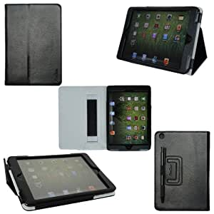 ProCase iPad mini Case - Flip Stand Leather Cover Case for Apple iPad mini 7.9-Inch Tablet auto sleep /wake feature (Black)