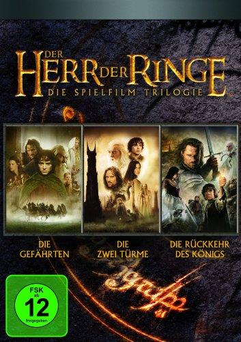 Der Herr der Ringe - Die Spielfilm Trilogie (Kinofilme) (6 DVDs)