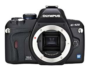 Olympus Evolt E420 10MP Digital SLR Camera (Body Only)