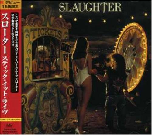 Original album cover of Stick It Live by Slaughter