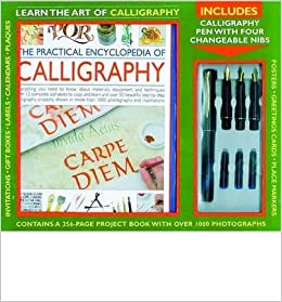 Kit The Practical Encyclopedia Of Calligraphy Learn The