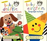 Baby Einstein- entire video collection 10 VHS tapes in all (Baby Mozart, Baby Bach, Baby Beethoven, Baby Einstein Language Nursery, Baby Einstein Neighborhood Animals, Baby Einstein World Animals, Baby Newton, Baby Santa's Music Box, Baby Shakespeare and Baby Van Gogh)