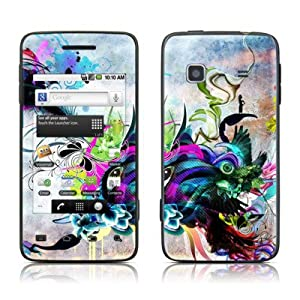 Streaming Eye Design Protective Skin Decal Sticker for Samsung Galaxy Prevail SPH M820 Cell Phone
