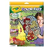 Crayola Color-fillz Disney Fairies with Tinkerbelle Mosaic Art Set with Model Magic Case Pack of 6