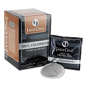 Coffee Pods Colombian Supremo Single Cup 14/Box