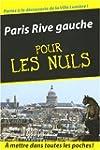 Paris rive gauche -pour les nuls poche
