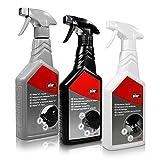 Weber Grill Reinigungsset 3 Flaschen für die Rundumpflege