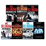Mark Billingham Mark Billingham Tom Thorne Novels Collection 7 Books Set, (In the Dark, Good As Dead, Scaredy Cat, Sleepy Head, the Burning Girl, BloodLine, From the Dead)