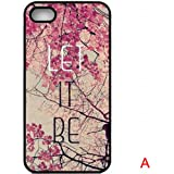 K9D Hot Sale New Style Retro Vintage Aztec Geometric Floral Flower Tribal Hard Case Back Cover Protector For iPhone 5 5S Style A & With a Nice Gift