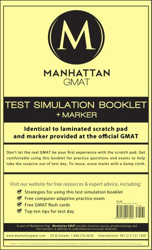 Find everything you need to prepare for the GMAT. Shop our entire collection of Manhattan Prep GMAT books, strategy guides and resources. Whether you're just figuring out how to study for the GMAT or are already in the trenches, we have what you need to get ready.
