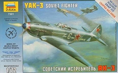 Zvezda - Z7301 - Maquette - Yak-3 - Echelle 1:72