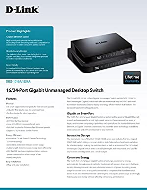 D-Link 24-Port Gigabit Switch (DGS-1024A)