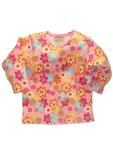 Sugar Blossoms Long Sleeve Screen Printed T-Shirt by Zutano - Buy Sugar Blossoms Long Sleeve Screen Printed T-Shirt by Zutano - Purchase Sugar Blossoms Long Sleeve Screen Printed T-Shirt by Zutano (Zutano, Zutano Apparel, Zutano Toddler Girls Apparel, Apparel, Departments, Kids & Baby, Infants & Toddlers, Girls, Shirts & Body Suits)