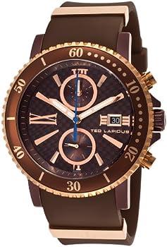 Ted Lapidus 5125506Sm Purple Case Men's Watch