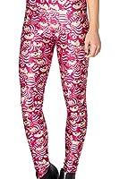 Ninimour Womens 3D Digital Print Tight Sports Pants Leggings