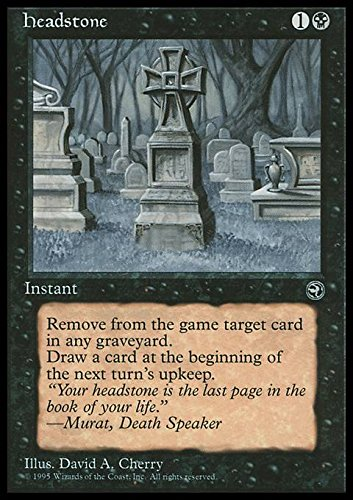 Magic: the Gathering - Headstone - Lapide - Homelands