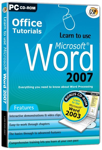 Learn to Use Word 2007 (PC)