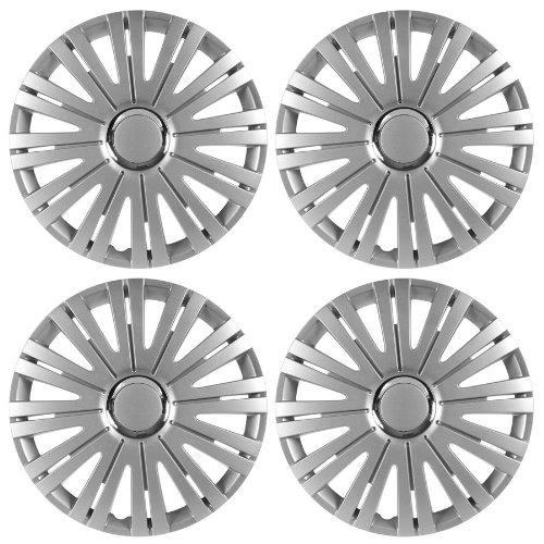 Radkappen ACTIVE silber 15 Zoll passend für Fiat 500, Bravo, Brava, Doblo, Grande Punto, Evo, Idea, Linea