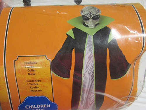 Boys Child Alien Halloween Costume Small 4-6X